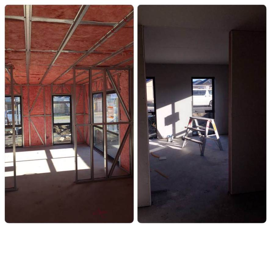 Rondo ceiling system ready for fix and stop