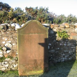 The Gravestone Of Eliza Gordon and Robert Beattie