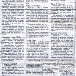 Wylda B Nimidoff Obituary - Died November 25, 1986