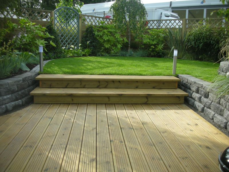 Split Level Garden - Hayes Ryan Landscape Architects on Split Garden Ideas id=63271