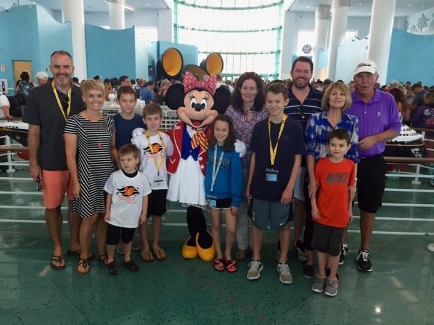 Disney Cruise Line Port Minnie Meet & Greet