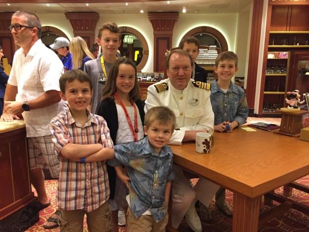 Disney Dream Captain Thord Signing