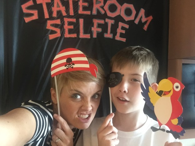 Disney Dream Stateroom Selfie