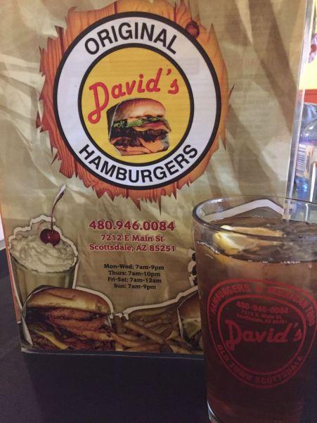 David's Hamburgers Old Town Scottsdale Arizona