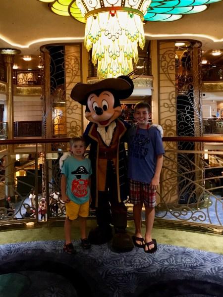 Disney Fantasy Pirate Mickey