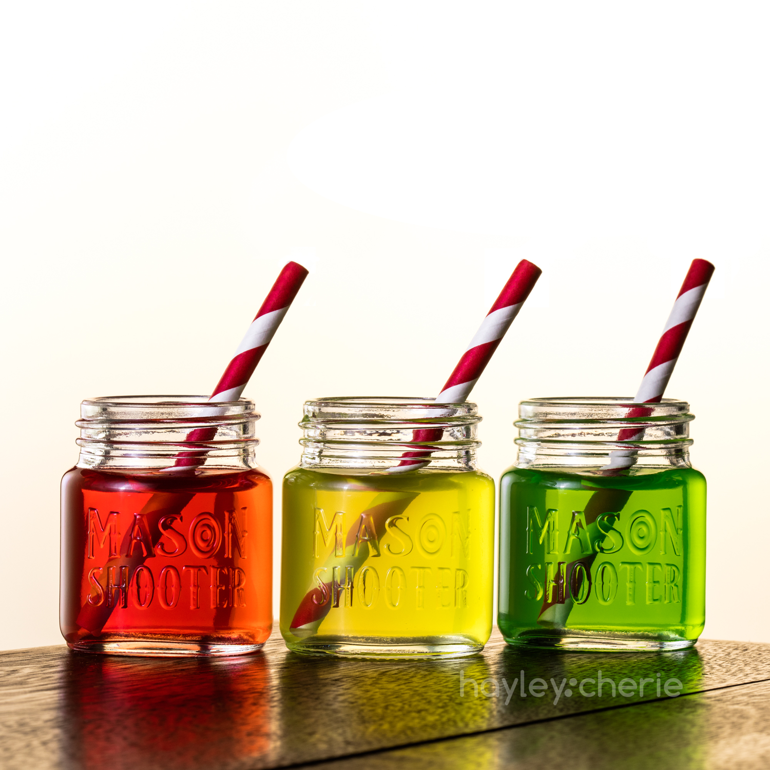 Mason Shooter – Mason Jar Shot Glasses – hayley cherie