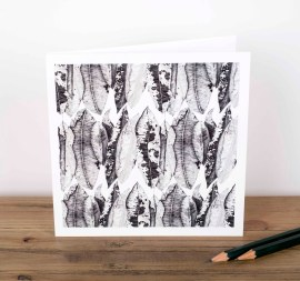 Leaf Decay Greetings Card