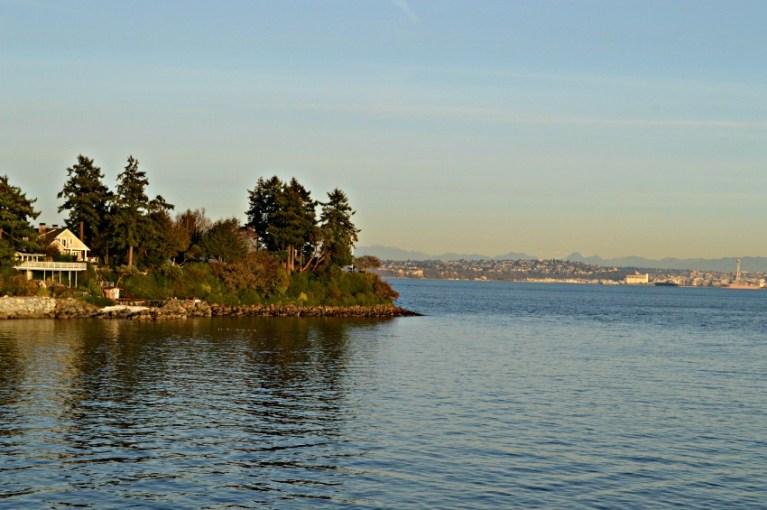 Bainbridge Island near Seattle Washington