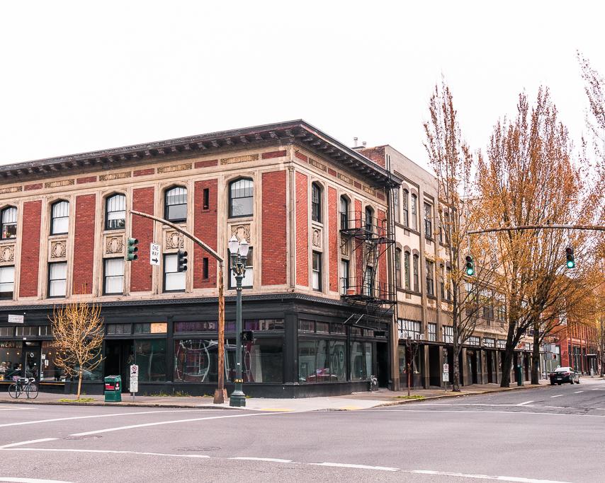I love Portland, Oregon and its architecture