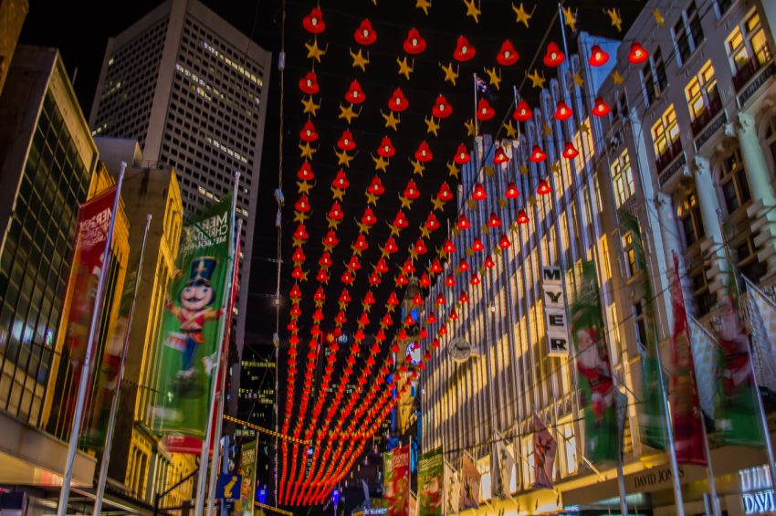 Visit Bourke Street Mall for a merry Melbourne Christmas