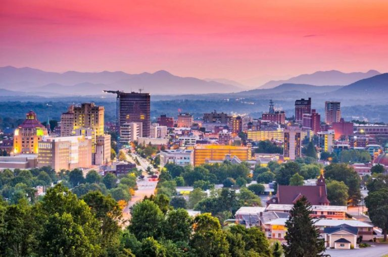 Where to stay in Asheville - a list of top Asheville hotels in North Carolina