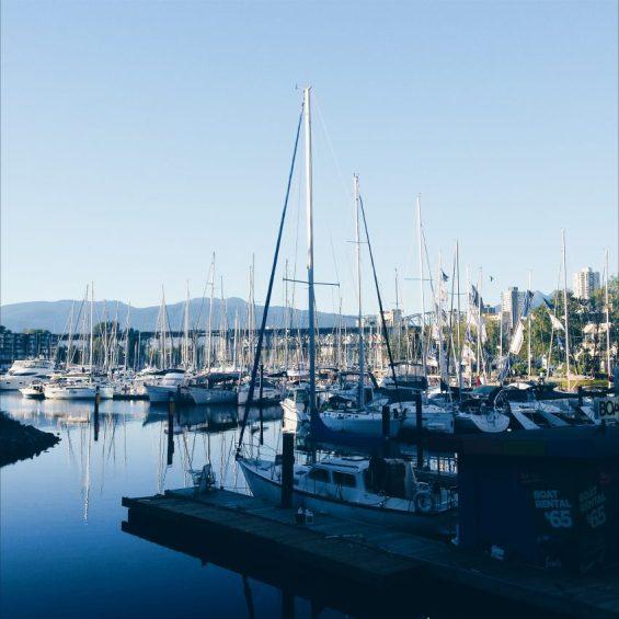 Granville Island Views in Vancouver, Canada