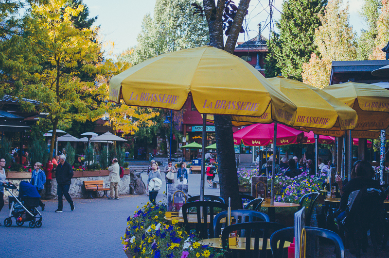 La Brasserie is a great restaurant in Whistler Village