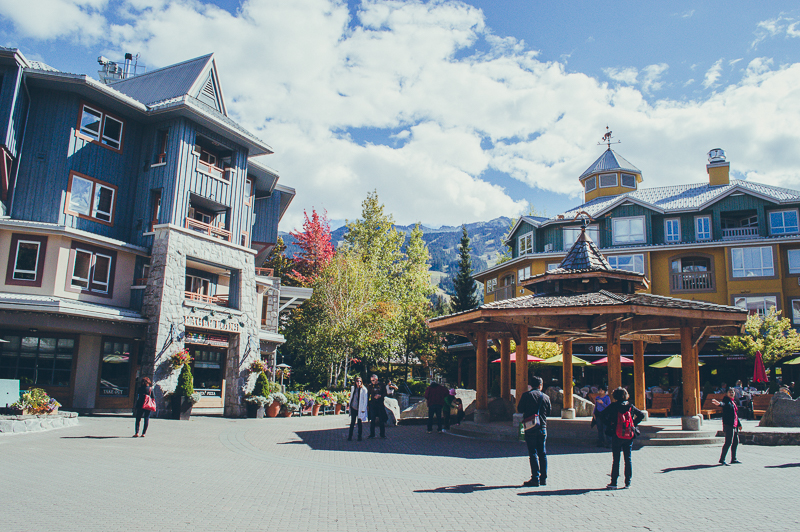 Picturesque Whistler Village, Canada
