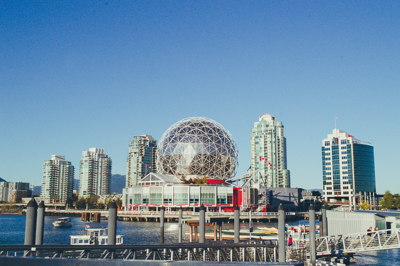 24 hours in Vancouver: see Science World