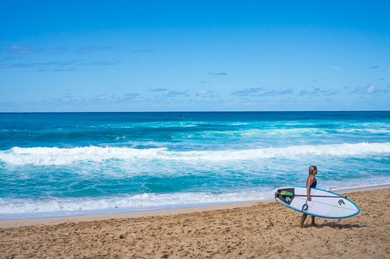 North Shore in Oahu, Hawaii