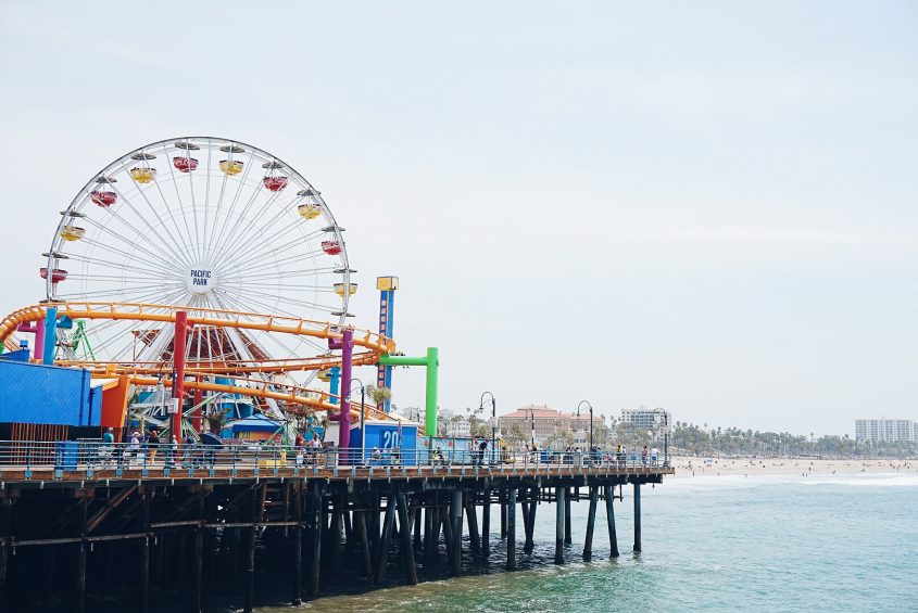 Things to do in LA: visit Santa Monica Pier