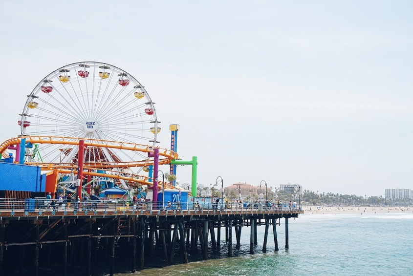 Things to do in LA: visit Santa Monica