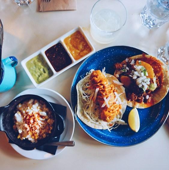 Mexican feast at Le Mezcaleria in Vancouver, Canada