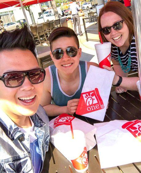 Where to Eat in LA: Chick Fil A