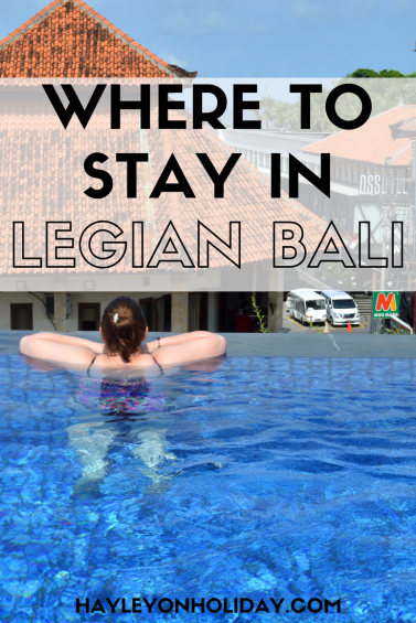 Looking for Legian accommodation in Bali? These Legian hotels suit families, couples and friends travelling together. They also range from budget to luxury! Click the link to find your next Bali hotel.