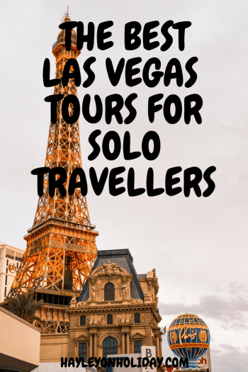 Read my guide for over 20 different Las Vegas tours, which are perfect for solo travellers, families and couples.