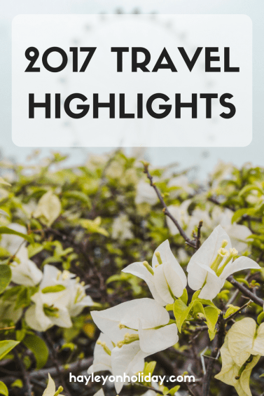 My Travel Highlights from 2017: From the USA to Canada to the UK to Europe to Asia, 2017 was an unforgettable year of travel for me. Click to check out my highlights, to inspire your travel bucket list!