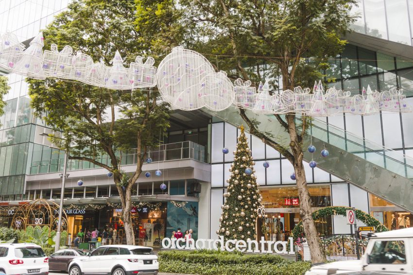 Shopping on Orchard Road is one of the best things to do in Singapore.