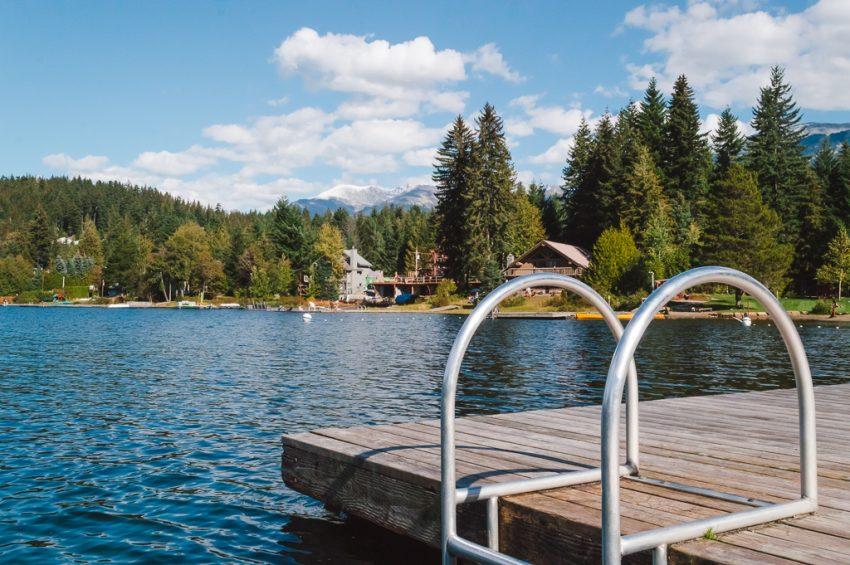 Alta Lake near Whistler, Canada