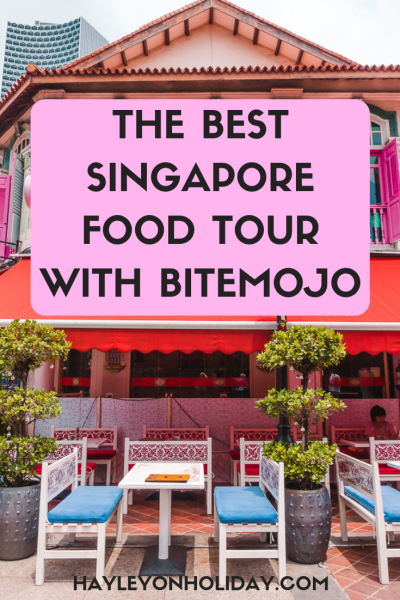 Review of Singapore food tour in Kampong Glam with Bitemojo