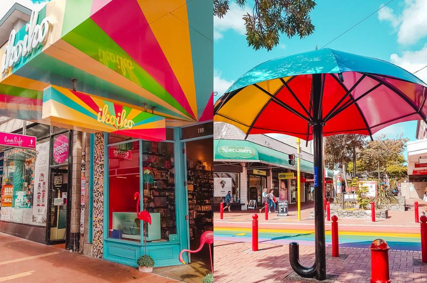 Cuba Street in Wellington, New Zealand