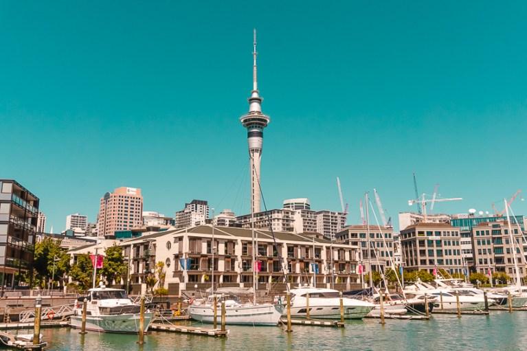 Wynyard Quarter in Auckland, New Zealand