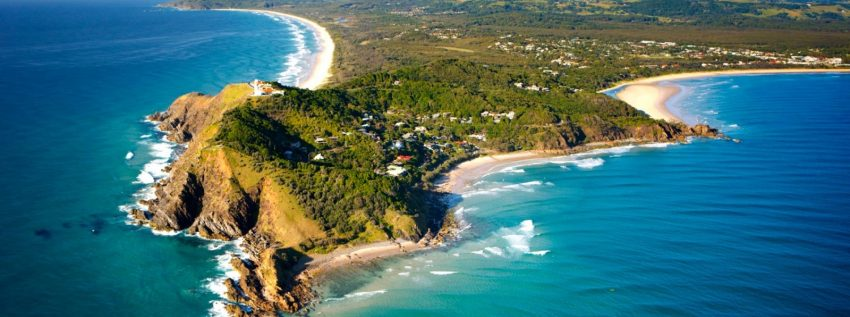 Places to visit in Australia: Byron Bay