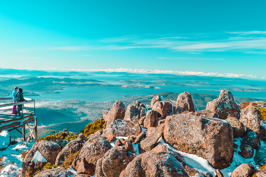 Places to visit in Australia: Mount Wellington in Hobart, Tasmania