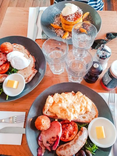 Brunch at Fifty Acres in Richmond, Melbourne