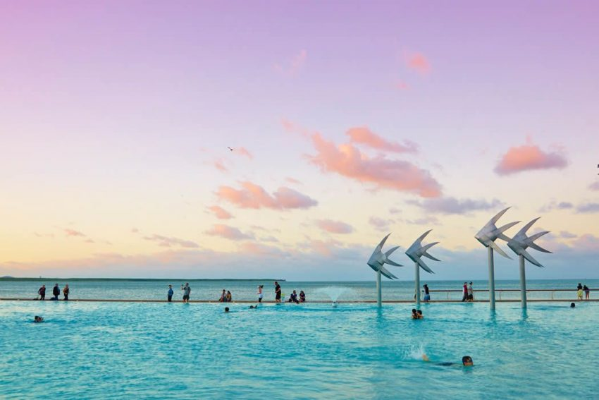 Things to do in Cairns - visit the Cairns Lagoon