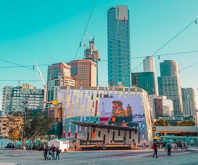 Free things to do in Melbourne: visit Fed Square