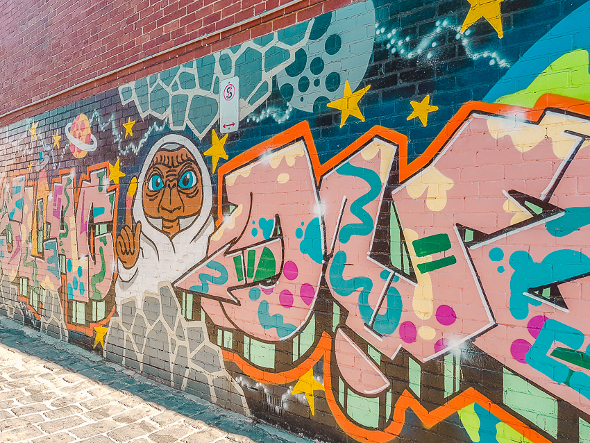 Free things to do in Melbourne: spot street art