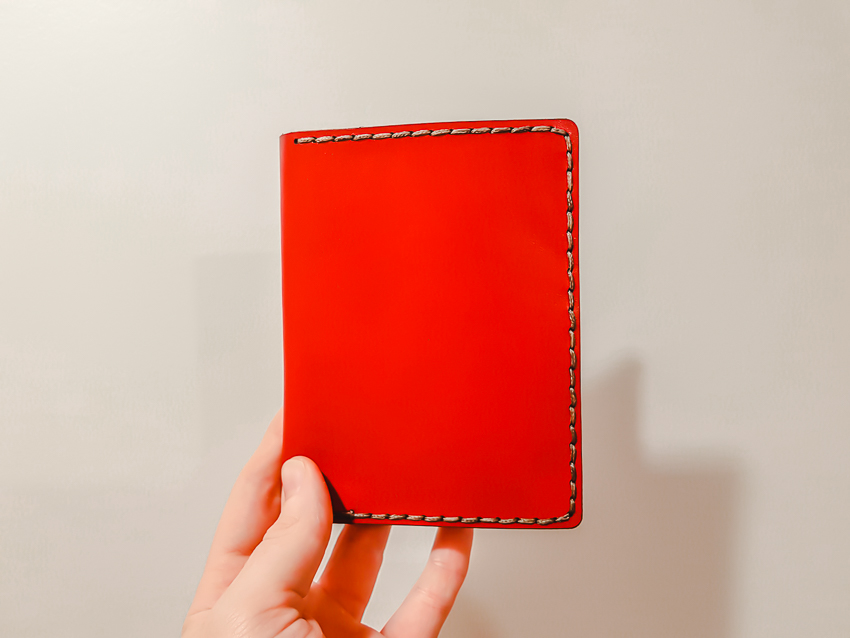 What to pack: my travel essentials - a passport wallet from Galen Leather Co.