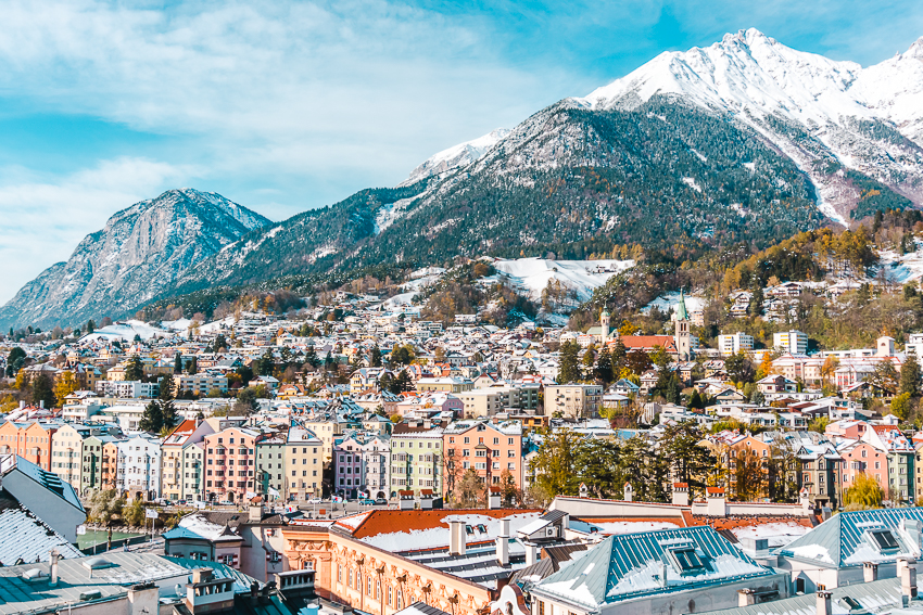 The best places to visit in 2020 - Innsbruck, Austria