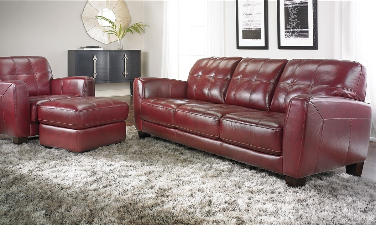 Red Accent Chairs Arms
