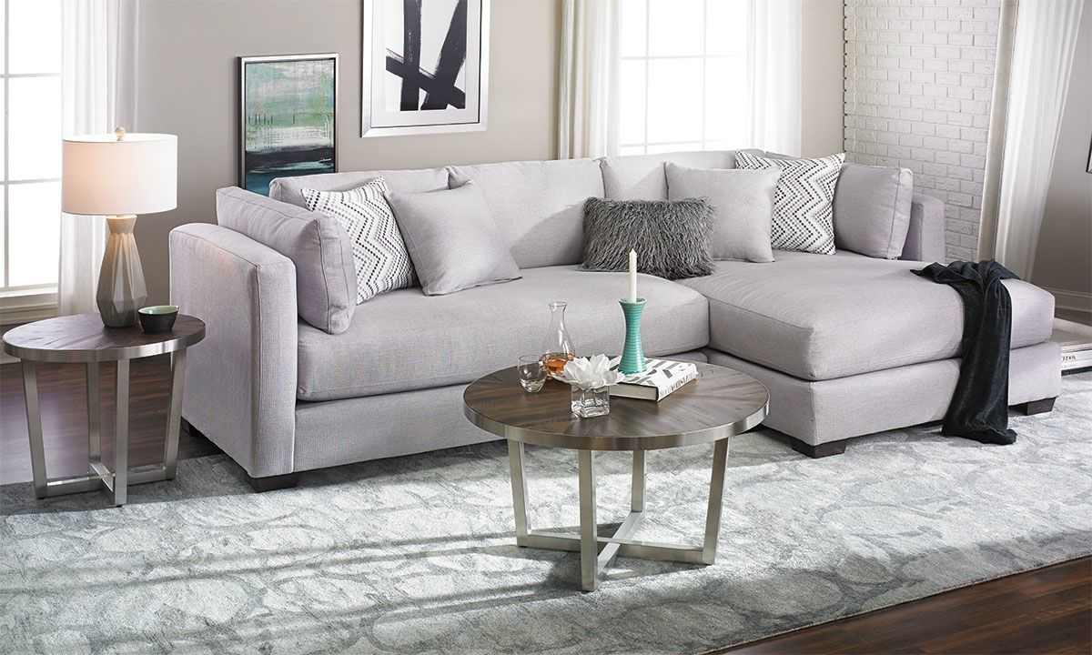 parker oversized contemporary sectional sofa