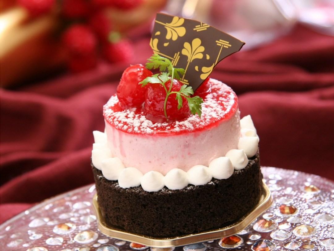 Dessert chocolat fruit rouges