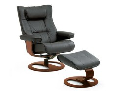 REGENT RECLINER AND OTTOMAN