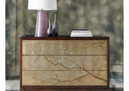 """AWESOME BLOSSOM"" ACCENT CHEST / DRESSER"