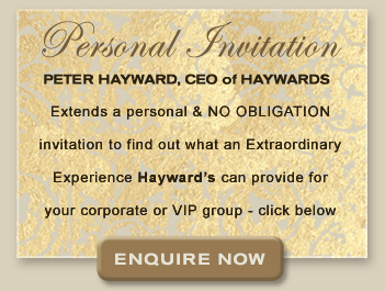 Personal Invitation from Peter Hayward