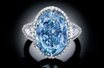 The World's Most Expensive Blue Diamonds