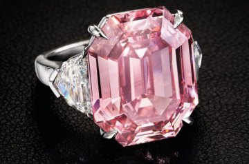 The World's Most Expensive Pink Diamonds