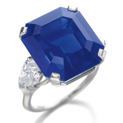 Rare and Exceptional Sapphire Ring