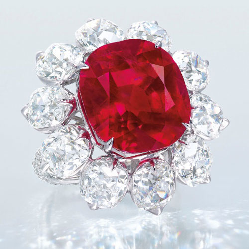 The Crimson Flame Ruby